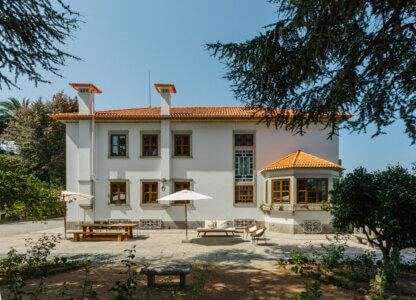 Mansion yard